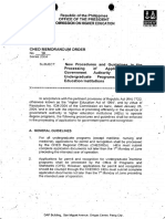 CMO-No.38-s2004_New Procedures and Guidelines in the Processing of Applications for Government Authority to Operate Undergraduate Programs in Higher Education Institutions.pdf