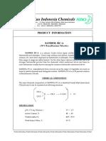 SANISOL - Product Catalog