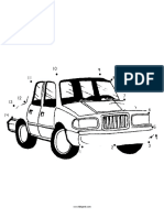 Transportation Dots Car