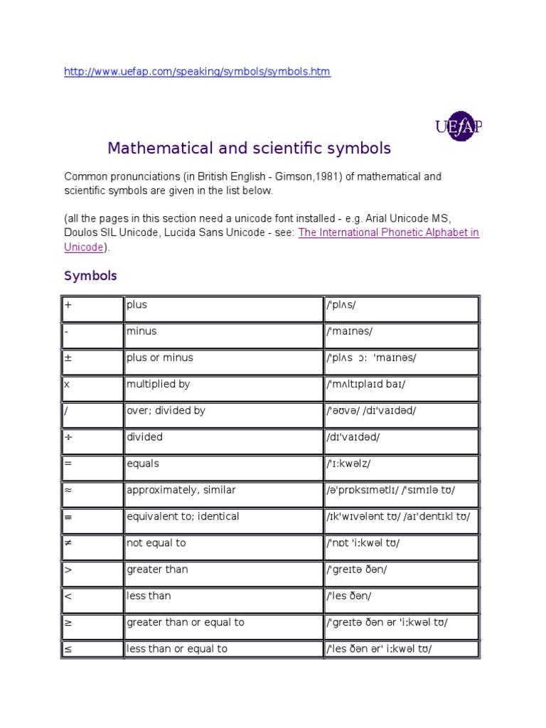 Math Symbol Spell Trigonometric Functions Sine