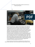 Potential for the Role of School-Based Animal-Assisted Literacy Mentoring Programs