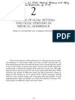 The Role of Goal Setting and Goal Striving in Medical Adherence