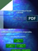 Liquidos y Electrolitos - Cirugia