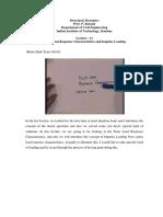 Pulse Load Response Characteristics and Impulse Loading