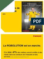 Présentation Métiers de La Robotique 2016