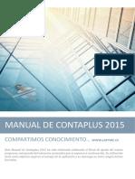 Manual Contaplus 2015