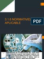 NORMATIVIDAD APLICABLE-TRATAMIENTO DE AGUAS