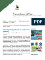 Internet Gratis Tigo Honduras Con Slowdns Ilimitado