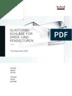 054195 DORMA T Drehen Pendeln D 0116 ES