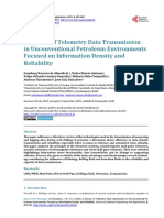 A Review of Telemetry Data Transmission