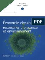 Rapport Economie Circulaire 1