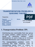 transportation problrm in OR