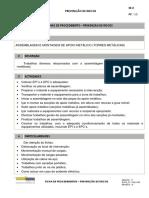 EE03 - Assemblagem e Montagem de Apoio Metálico (Torres Metálicas)