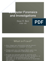 Computer Forensics and Investigations