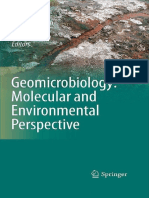 Geomicrobiology - Molecular and Environmental Perspective (Gnv64)