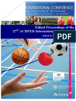 27th ACHPER International Conference Proceedings