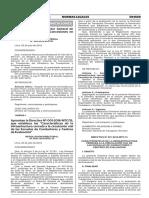Directiva 001-2016-MTC-15