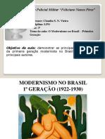 Modernismo No Brasil - 1ª Geração