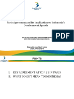 Paris Agreement and Its Implication on Development Agenda