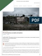 Por Los Barrios Se Siente El Hambre _ EnREDando