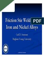 Iron and Nickel Alloys