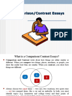 Comparison Contrast Essays