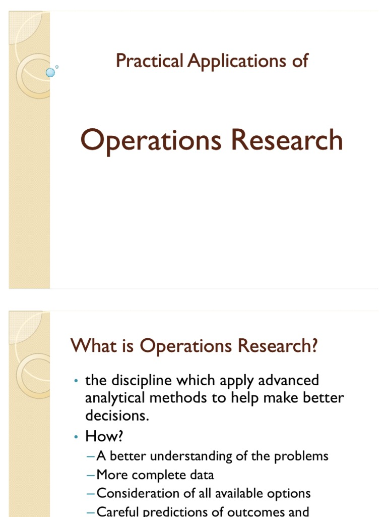 What is operation? 9