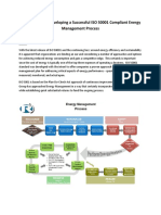 6 Part Series on Developing a Successful ISO 50001 Compliant Energy Management Process