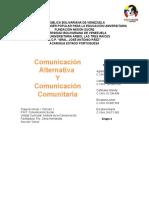 5 Comunicación Alternativa y Comunitaria