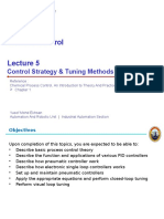 Lecture 5 - Control Strategy and Tuning Methods