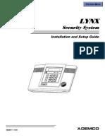 Ademco Lynx Install Guide