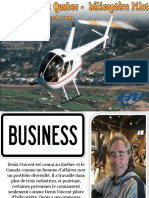 Denis Vincènt Quebec -  hélicoptère Pilot