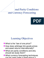 Parity Conditions and Currency Forecasting-VVGG Illustr