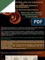 Seleccion Del Modelo Temdinámico en Simulacion de Procesos