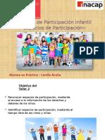 Espacios de Participación Infatil Ppt
