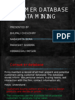 database and data mining