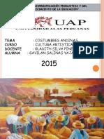 costumbres andinas