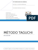 Método Taguchi
