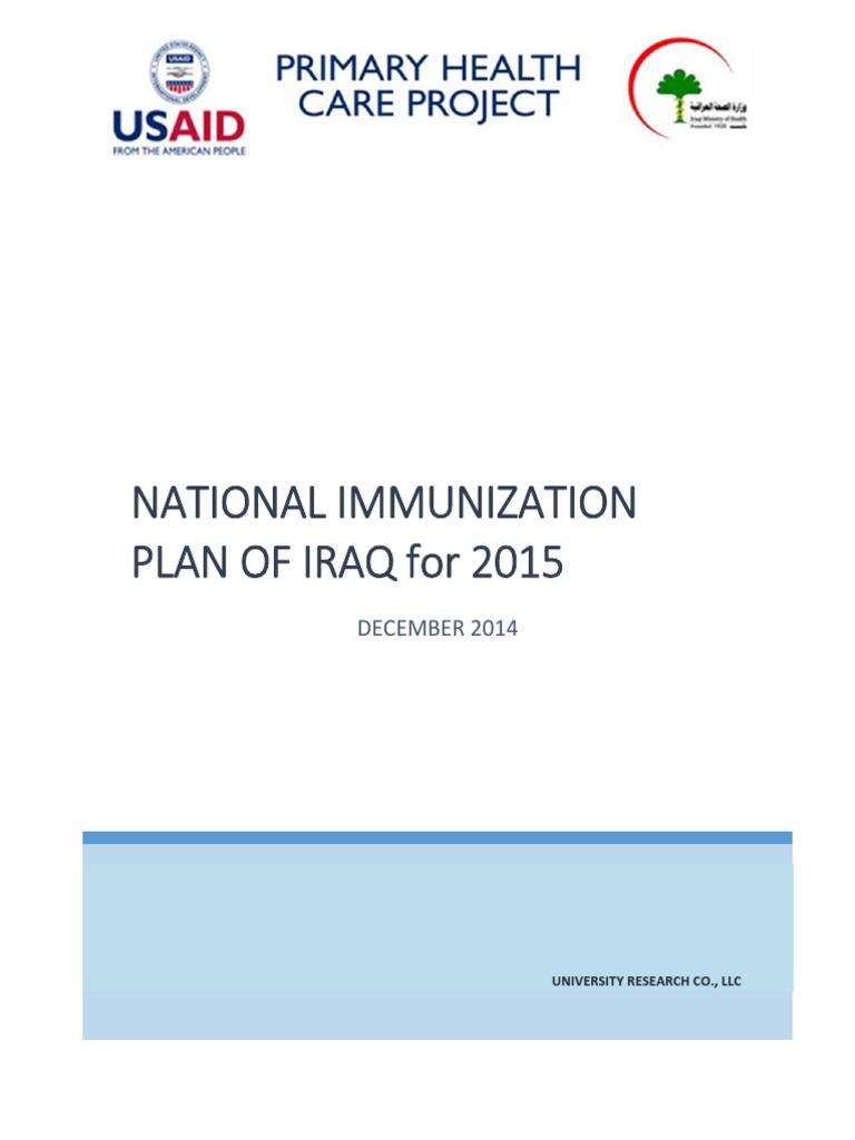 iraq vac   Vaccines   Public Health