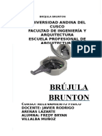 Brújula Brunton