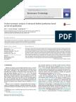 Techno-economic Analysis of Advanced Biofuel Produ