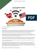 The Discontent of 'the Forgotten Citizen' - Washington Times