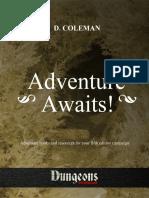 V3KS2 Adventure Awaits - Print Friendly