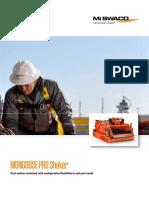 Mongoose Pro Shaker Brochure