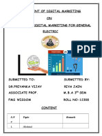 Assignment of Digital Marketing