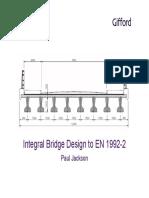 Integral Bridge Design