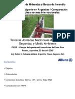 ING CABRERA_Hidrantes y Bocas de Incendio - Parana 2015 Rev Final