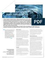 The Importance of Biochemical Oxygen Demand Bod in the Water Analysis Sector