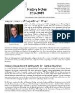 History Notes 2014-15