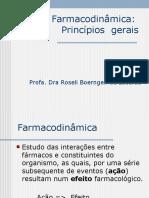 Aula 1 - Farmacodinâmica Principios Gerais
